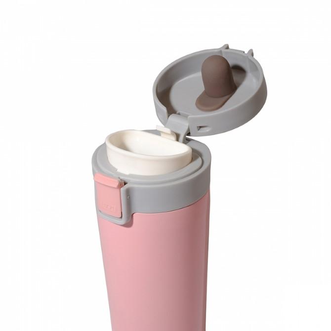 "Термочашка YES ""Powder Pink"", 350 мл 707280"
