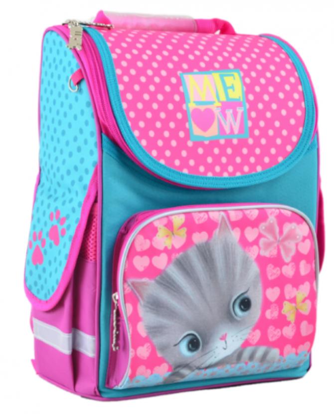 Рюкзак шкільний каркасний 1 Вересня H-11 Cat 555294