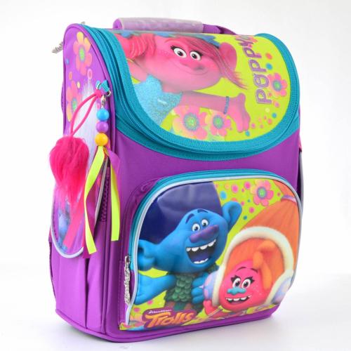 Рюкзак шкільний каркасний 1 Вересня H-11 Trolls 553359