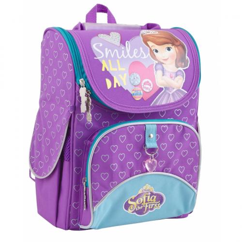Рюкзак шкільний каркасний 1 Вересня H-11 Sofia purple