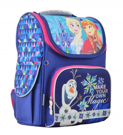 Рюкзак школьный каркасный 1 Вересня H-11 Frozen blue 555158