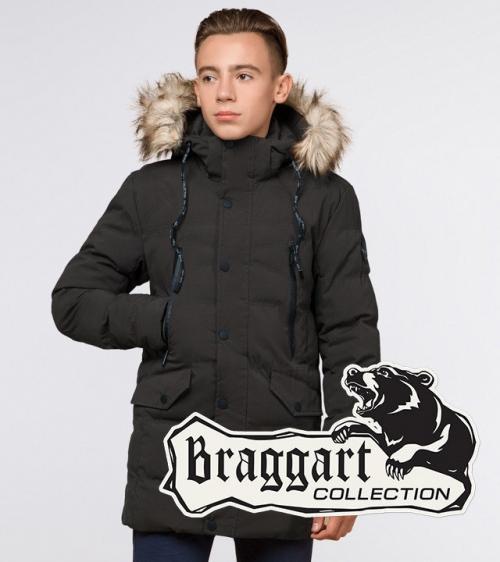 Молодіжна зимова куртка Braggart Youth 25230S