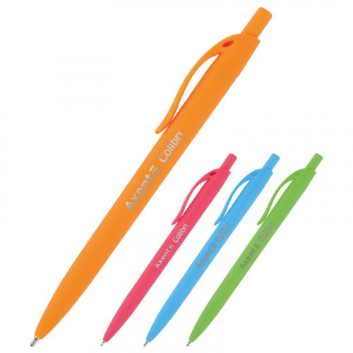 Ручка масляна автоматична Axent Сolibri ab1062-02-a, 0,7мм, синя