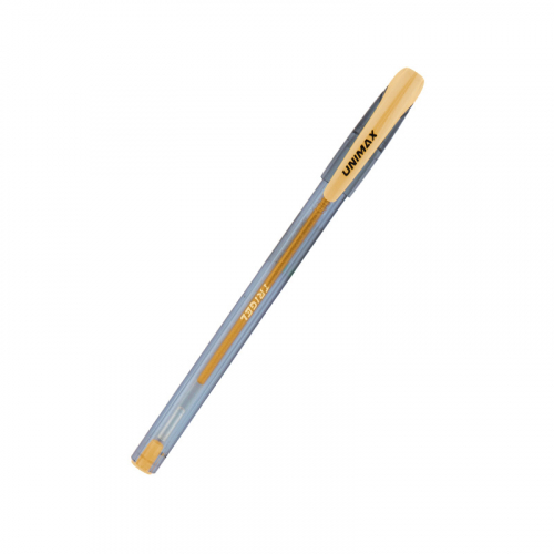 Ручка гелева Unimax Trigel-2 ux-131-35, золота