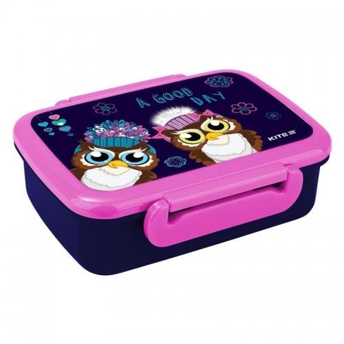 Ланчбокс , контейнер для їжі Kite Owls , 420 мл