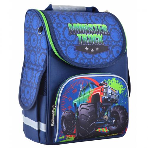 Рюкзак шкільний каркасний Smart PG-11 Monster truck