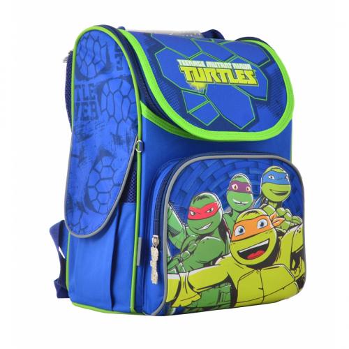 Рюкзак шкільний каркасний 1 Вересня H-11 Turtles 555120