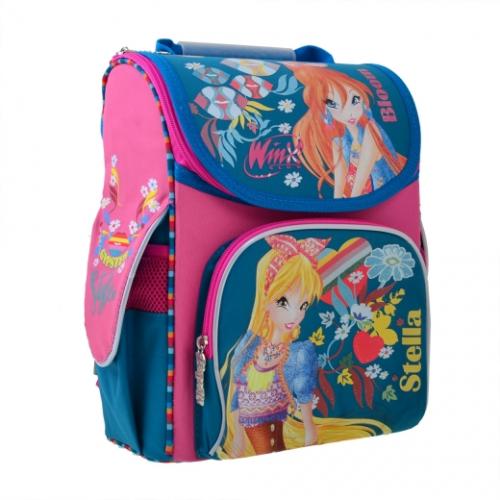Рюкзак шкільний каркасний 1 Вересня H-11 Winx mint 555188