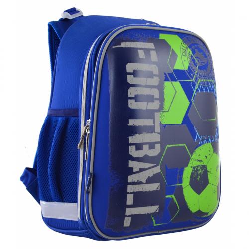 Рюкзак шкільний каркасний 1 Вересня H-12 Football 555946
