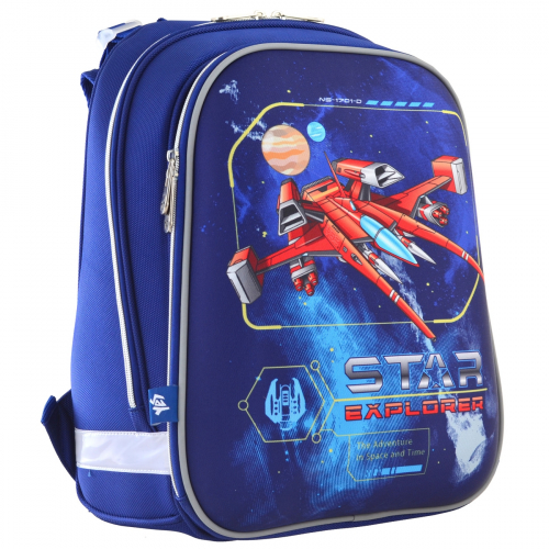 Рюкзак шкільний каркасний 1 Вересня H-12 Star Explorer 555960