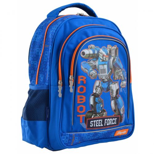 Рюкзак шкільний 1 Вересня S-22 Steel Force 556345