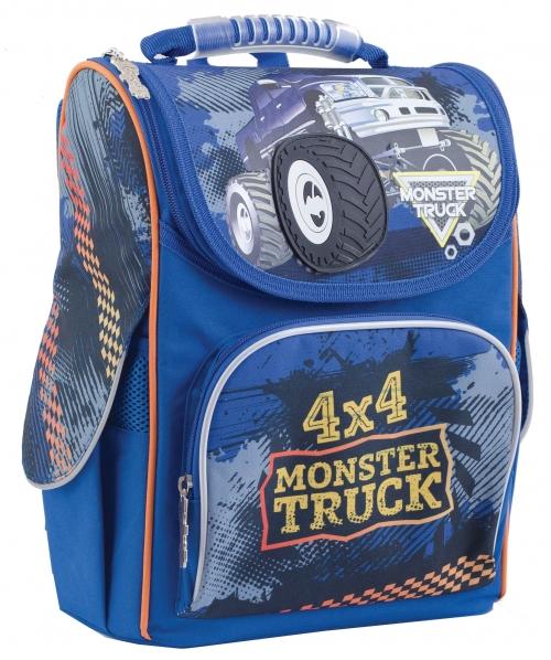Рюкзак каркасний ортопедичний 1 Вересня H-11 Monster Truck 553296