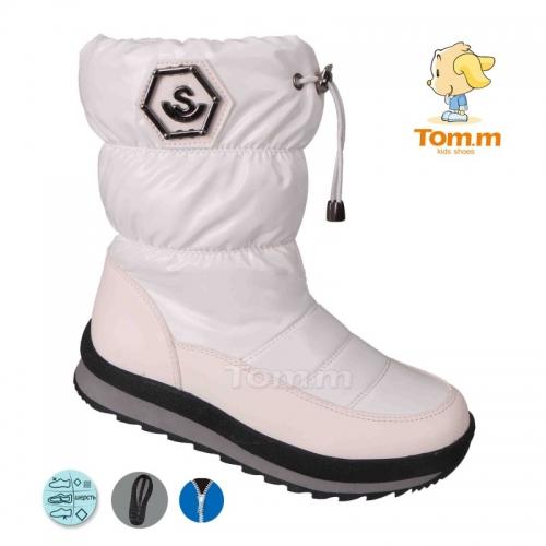 Зимові чоботи TOM.M білі
