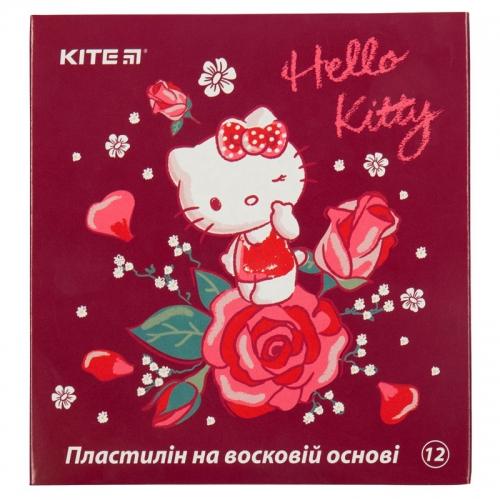 Пластилін восковий Kite Hello Kitty HK19-1086, 12 кольорів, 240 г
