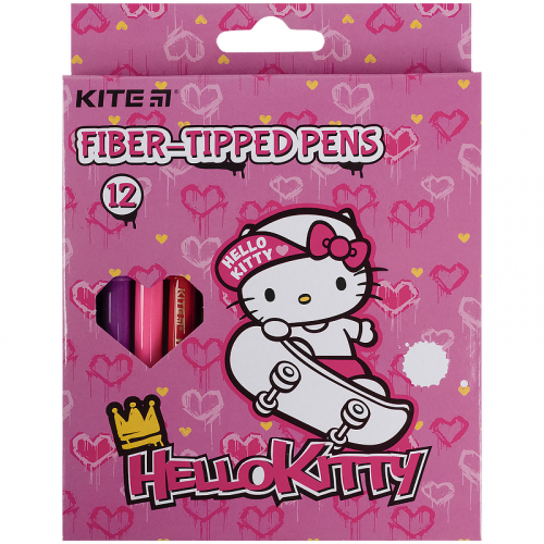 Фломастери Kite Hello Kitty HK21-047, 12 кольорів