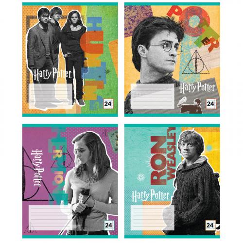 Зошит шкільний Kite Harry Potter HP20-239, 24 аркуша, лінія