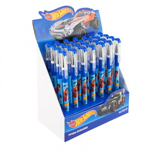 Ручка кулькова Kite Hot Wheels HW19-032