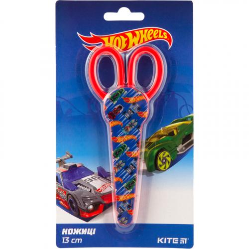 Ножиці в футлярі Kite Hot Wheels HW19-125, 13 см