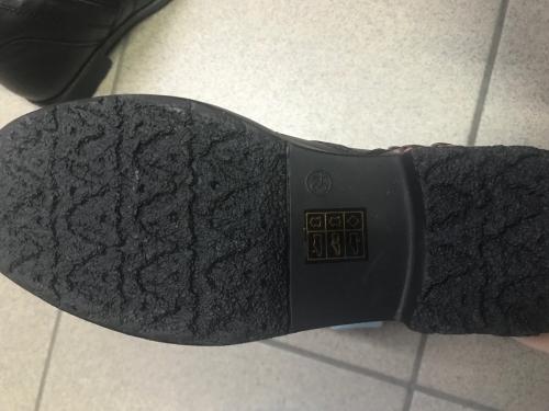Зимові шкіряні черевики з хутром ТМ BI&KI, чорні