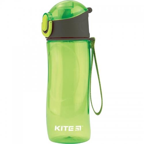 Пляшечка для води Kite 530 мл, зелена