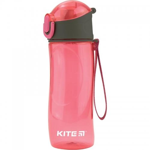 Пляшечка для води Kite 530 мл, рожева.