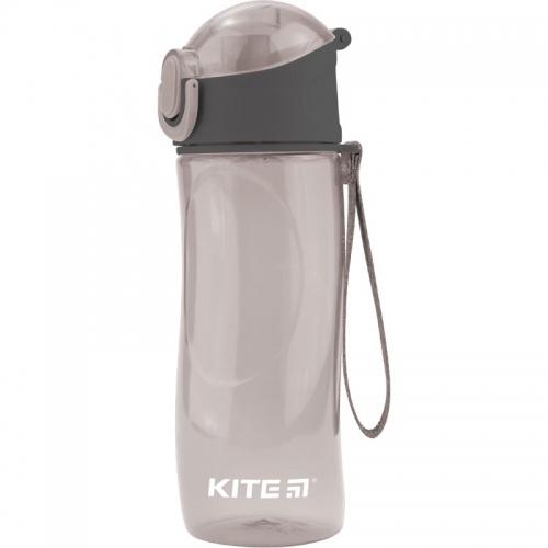 Пляшечка для води Kite 530 мл, сіра