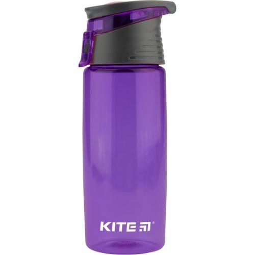 Пляшечка для води Kite 550 мл, фіолетова .