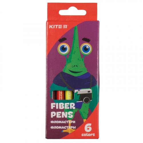 Фломастери Kite Jolliers K19-046, 6 кольорів