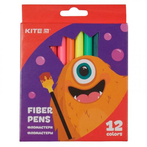 Фломастери Kite Jolliers K19-047, 12 кольорів