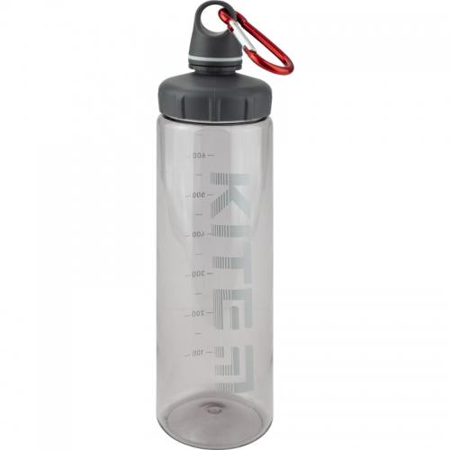 Пляшечка для води Kite K19-406-03, 750 мл, сіра