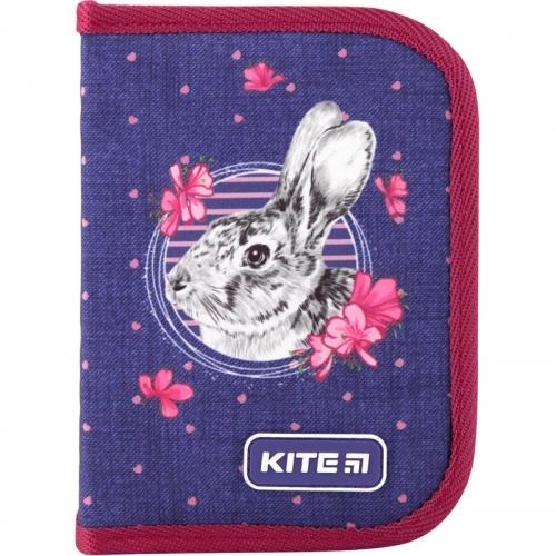 Пенал без наповнення Kite Education Fluffy bunny K19-622-3