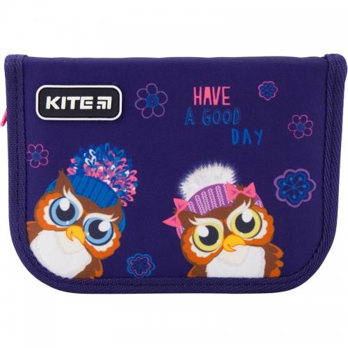 Пенал без наповнення Kite Education Owls K19-622-5