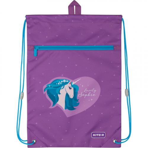 Сумка для взуття з кишенею Kite Education Lovely Sophie K20-601M-27
