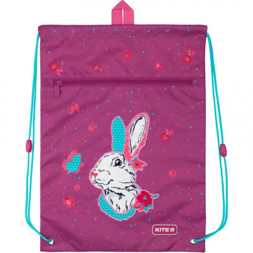 Сумка для взуття з кишенею Kite Education Bunny K20-601M-7