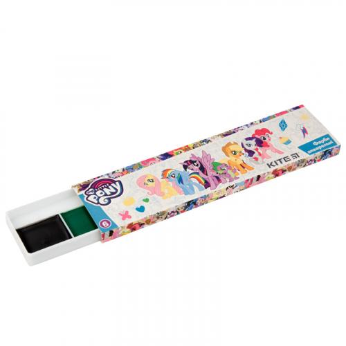 Фарби акварельні в картонній упаковці Kite My Little Pony, 6 кольорів LP19-040