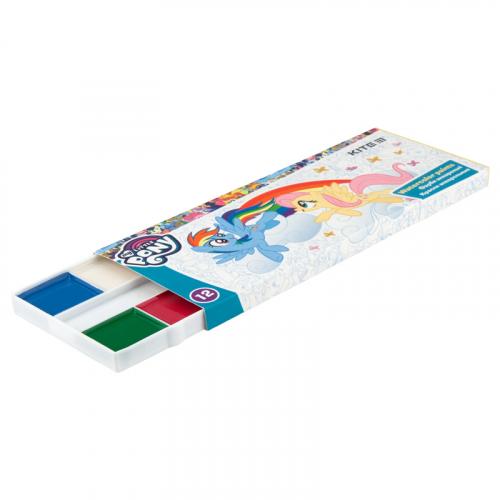 Фарби акварельні в картонній упаковці Kite My Little Pony LP19-041, 12 кольорів