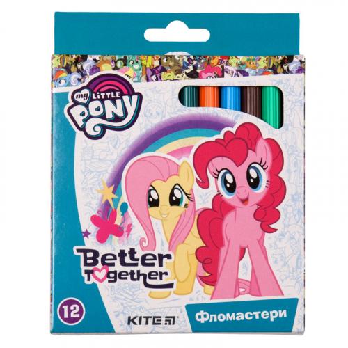 Фломастери Kite My Little Pony LP19-047, 12 кольорів