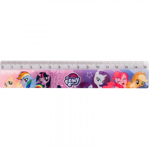 Лінійка пластикова Kite My Little Pony LP19-090, 15 см