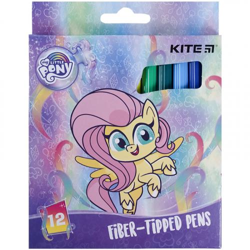 Фломастери Kite My Little Pony LP21-047, 12 кольорів