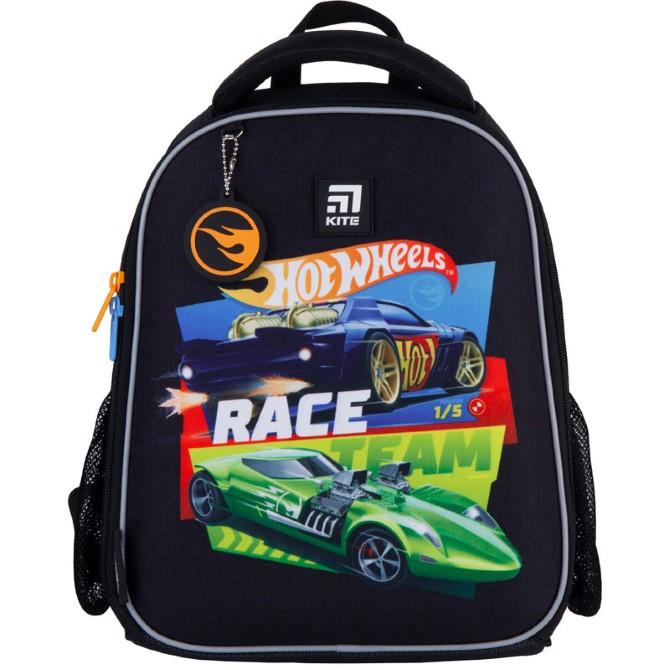 Рюкзак шкільний каркасний Kite Education Hot Wheels HW21-555S