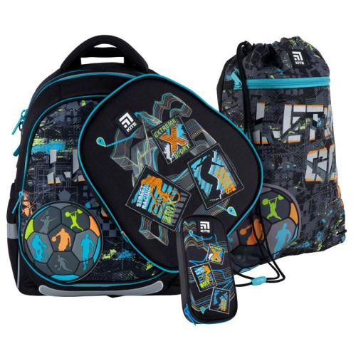 Шкільний Набір Рюкзак + Пенал + Сумка для взуття Kite Education Let´s go SET_K21-700M(2p)-2