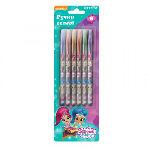 Набір гелевих ручок з глітером Kite Shimmer&Shine SH19-037