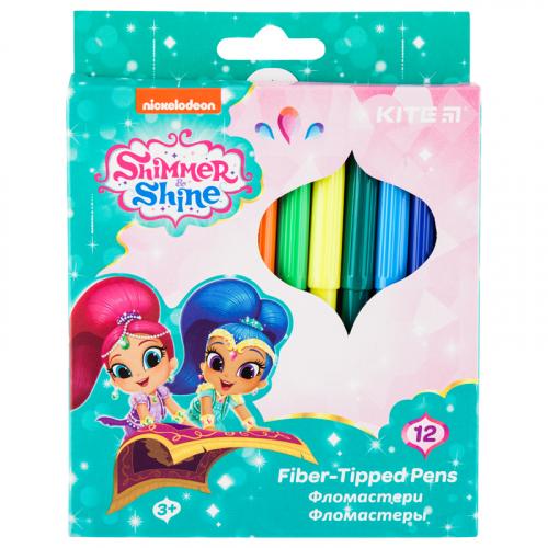 Фломастери Kite Shimmer&Shine SH20-047, 12 кольорів