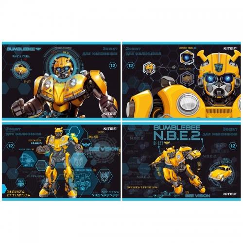 Альбом для малювання Kite Transformers BumbleBee Movie, 12 аркушів