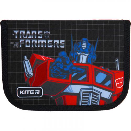Пенал без наповнення Kite Education Transformers TF21-622, 1 відділення, 2 відвороти