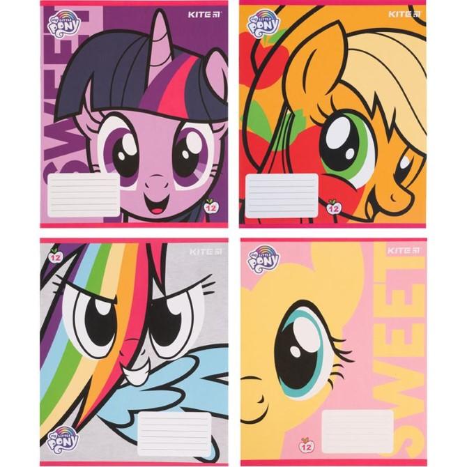 Зошит шкільний Kite My Little Pony LP21-235, 12 аркушів, коса лінія