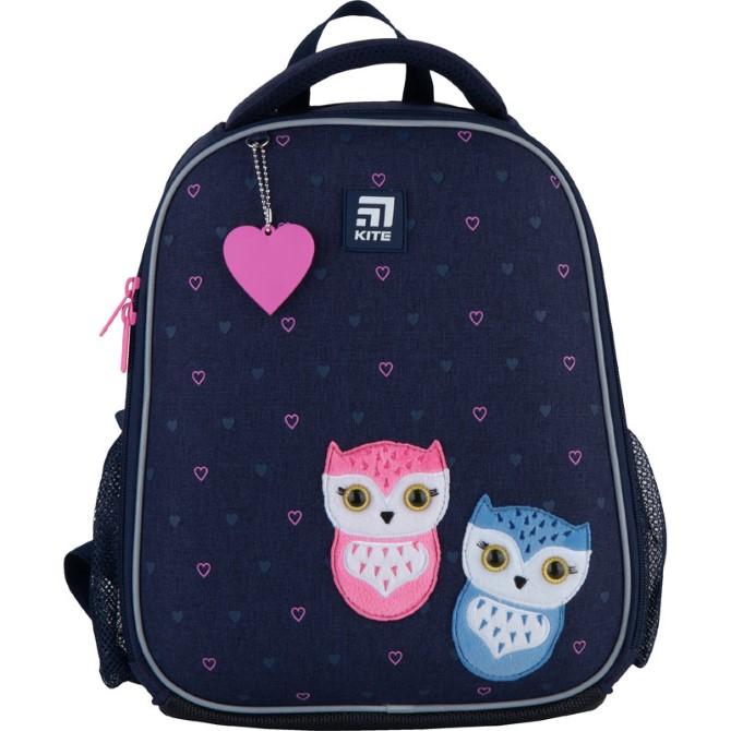 Рюкзак шкільний каркасний Kite Education Lovely owls K21-555S-4