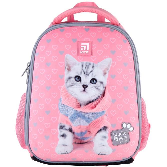 Рюкзак шкільний каркасний Kite Education Studio Pets SP21-555S-2