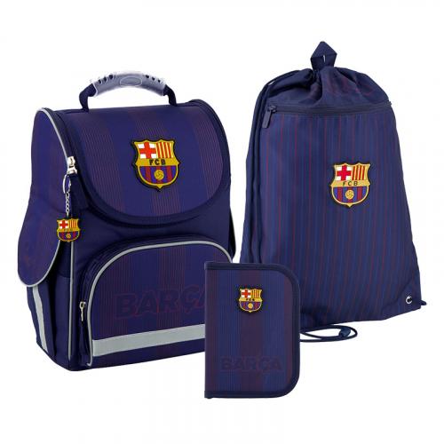 Шкільний Набір каркасний Kite Education FC Barcelona SET_BC20-501S