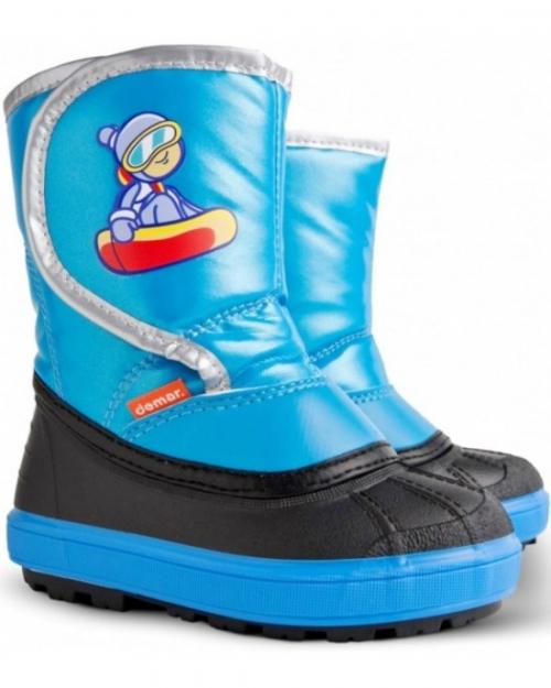 Сапоги Demar Snowboarder Зимние голубые